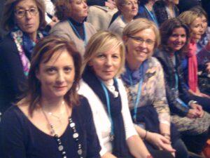 con senadoras Sevilla